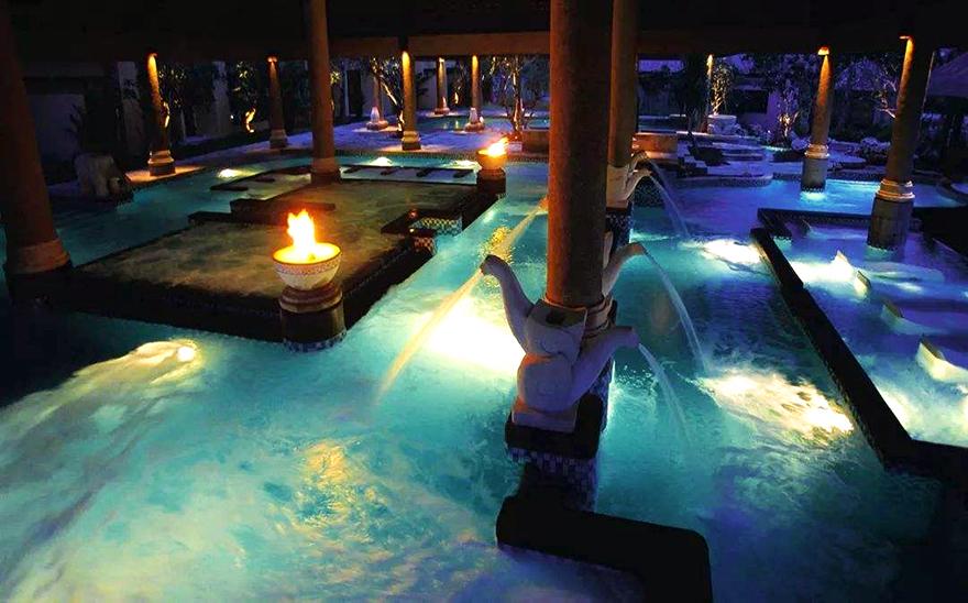 酒店温泉水疗