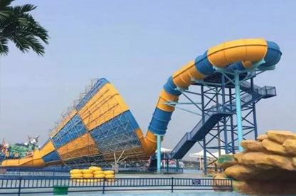 水上乐园设备-旋风滑梯(大喇叭)