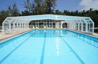 国标室外恒温游泳池